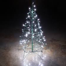 Astounding Ideas Lighted Outdoor Christmas Tree Cool White LED