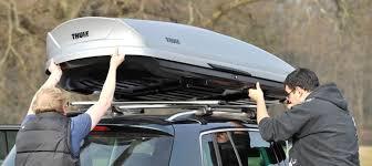coffre toit de voiture fixation coffre de toit nos conseils pour bien l installer