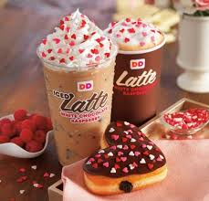 Dunkin Donuts Pumpkin Spice Syrup For Sale by Dunkin U0027 Donuts U0027 2015 Heart Shaped Valentine Donuts Brand Eating