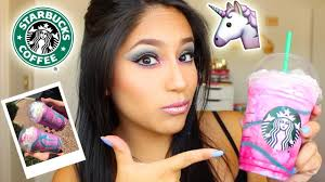 STARBUCKS UNICORN Frappuccino GROSS OR TASTY Review Drink Tasting