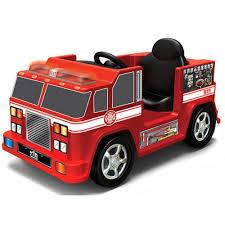 100 Kid Trax Fire Truck Engine 6Volt BatteryPowered RideOn Toy Man Toddler