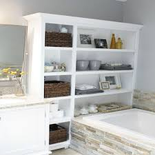 Bathroom Modern Bathroom Storage Ideas Bathroom Display Shelves ... Small Space Bathroom Storage Ideas Diy Network Blog Made Remade 15 Stunning Builtin Shelf For A Super Organized Home Towel Appealing 29 Neat Wired Closet 50 That Increase Perception Shelves To Your 12 Design Including Shelving In Shower Organization You Need To Try Asap Architectural Digest Eaging Wall Hung Units Rustic Are Just As Charming 20 Best How Organize Tiny Doors Combo Linen Cabinet