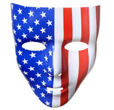 Purge Masks Halloween City by Basic Black Face Mask 7in X 7in Party City
