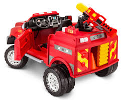 100 Kid Trax Fire Truck Parts 12Volt RAM 3500 RideOn Toy Car By Red