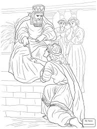 Coloring Pages Queen Esther Becomes A Christianity Bible