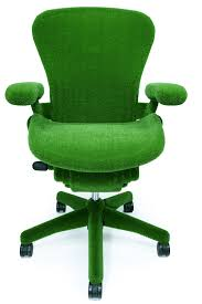 Aeron Chair Used Nyc by Green Astroturf Covered Aeron Chair By Herman Miller And Makoto