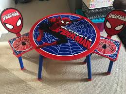 Kids Spider-man Table And Chairs | In Syston, Leicestershire | Gumtree Delta Children Ninja Turtles Table Chair Set With Storage Suphero Bedroom Ideas For Boys Preg Painted Wooden Laptop Chairs Coffee Mug Birthday Parties Buy Latest Kids Tables Sets At Best Price Online In Dc Super Friends And Study 4 Years Old 19x 26 Wood Steel America Sweetheart Dressing Stool Pink Hearts Jungle Gyms Treehouses Sandboxes The Workshop Pj Masks Desk Bin Home Sanctuary Day