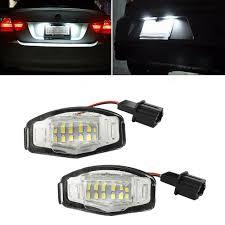 100 Em2 Design Details About 2X LED Number License Plate Lights For Honda Civic EM2 City Legend Accord Acura