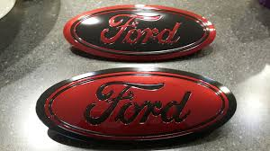 100 Ford Truck Emblems How To Painted Oval Emblems New 3D Style F150 Forum