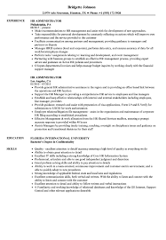 HR Administrator Resume Samples | Velvet Jobs