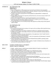 HR Administrator Resume Samples | Velvet Jobs