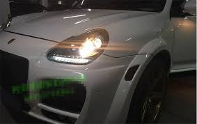 free shipping for vland factory for porsche cayenne headlight h7