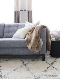 Karlstad Sofa Leg Height by Ikea Karlstad Tapered Leg U0026 Skirt Tutorial Oh Everything Handmade