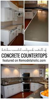 100 How To Change Countertops Up Your Kitchen With A Quick Install Of Concrete