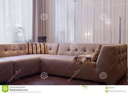modernes wohnzimmer in der luxusvilla stockbild bild