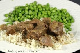Try This Crockpot Beef Tips And Rice Recipe Next Time You Need An Easy Dinner Idea