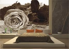 wanddekoration moderne schlafzimmer fototapeten und schöne