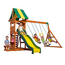 Backyard Discovery Weston All Cedar Playset-65113com - The Home Depot Shop Backyard Discovery Prestige Residential Wood Playset With Tanglewood Wooden Swing Set Playsets Cedar View Home Decoration Outdoor All Ebay Sets Triumph Play Bailey With Tire Somerset Amazoncom Mount 3d Promo Youtube Shenandoah