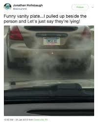 24 Drivers Who Stopped Traffic With Their Vanity Plates