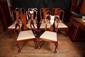 Queen Anne Chairs Encarnacion Ding Chair Sold Out Henkel Harris Mahogany Queen Anne Chairs Set Of 6 Rustic Circular Farmhouse Shabby Chic Ding Table 4 Vintage Chairs Local Delivery In Hammersmith Ldon Gumtree Evolution Seven Piece With By Legacy Classic At Lindys Fniture Company Rooms Cherie Rose Collection Tone On Duncan Phyfe Painted Regency Table Suite Ebay Im So Doing This Someday To My Set Painted White Queen Anne Andersen Stauffer Makers Seating Pladelphia Lavinia Double Extension Double Extension 31m In Stock Room Cloth Homesfeed