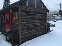 Handcrafted Wooden Pallet Shed