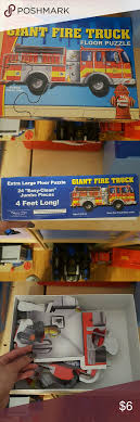 Melissa & Doug Fire Truck Puzzle Great Condition. No Missing Pieces ... Melissa Doug Fire Truck Floor Puzzle Chunky 18pcs Disney Baby Mickey Mouse Friends Wooden 100 Pieces Target And Awesome Overland Park Ks Online Kids Consignment Sale Sound You Are My Everything Yame The Play Room Giant Engine Red Door J643 Ebay And Green Toys Peg Squirts Learning Co Truck Puzzles 1