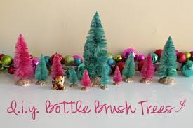 Last Year Around This Time I Had To Have Some Vintage Bottle Brush Trees Knew How Make Them Myself But Couldnt Find The Dye