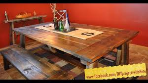 How To Build A Farmhouse Table - The Most Complete Video Online - Episode 7 Lindsey Farm 6piece Trestle Table Set Urban Chic Small Ding Bench Hallowood Amazoncom Vermont The Gather Ash 14 Rentals San Diego View Our Gallery Lots Of Rustic Tables Jesus Custom Square Farmhouse Farm Table W Matching Benches Reclaimed Chestnut Wood Harvest Matching Free Diy Woodworking Plans For A Farmhouse Handmade Coffee Ashley Distressed Counter 4 Chairs Modern Southern Pine Wmatching Bench