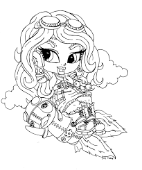 Great Monster High Baby Coloring Pages 72 For Your Online With