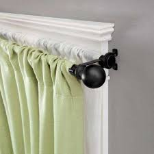 Curtain Rod Grommet Kit by Double Curtain Rods U0026 Sets Curtain Rods U0026 Hardware The Home