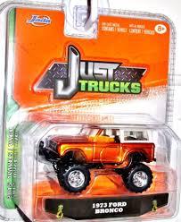 Jada 2015 JUST TRUCKS 1973 Ford Bronco Wave 5 Orange W/White Top ...