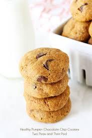 Healthy Chocolate Pumpkin Desserts by Healthy Pumpkin Cookies Recipe Two Peas U0026 Their Pod