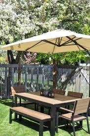Ebay Patio Table Umbrella by Best 25 Patio Set With Umbrella Ideas On Pinterest Umbrella For
