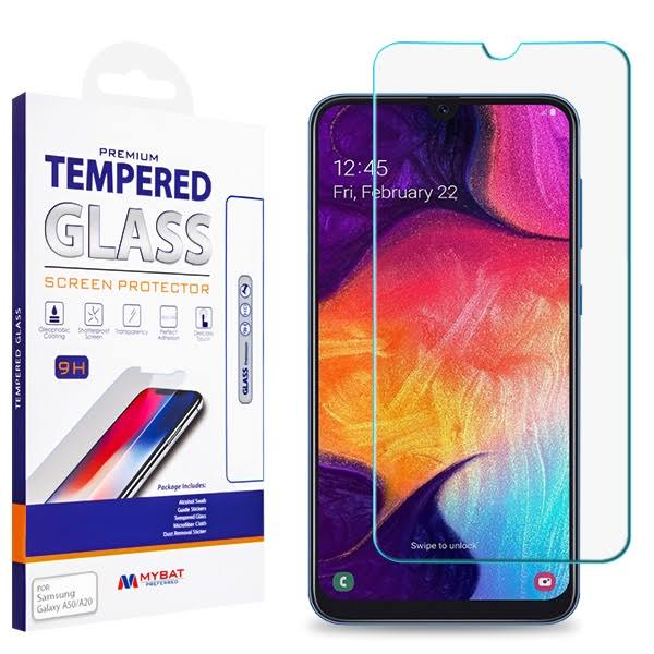 MYBAT Tempered Glass Screen Protector 25D for Samsung Galaxy A50 Samsung Galaxy A20