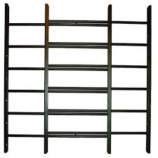 Decorative Security Bars For Windows And Doors by Interior Exterior Security Bars Windows The Home Depot