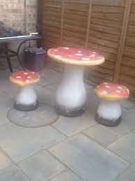 Toadstool Bistro Set Garden Furniture In Peterborough For ... Red Toadstool Table Masquespacio Designs Adstoolshaped Fniture For Missana Mushroom Kids Stool Uncategorized Chez Moi By Haute Living Propbox Event Props Fniture Hire Dublin How To Make A Bistro Set Garden In Peterborough Swedish Woodland Robins Floral Side Magentarose Toadstools Fairy Garden