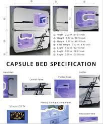 Patented Transverse Capsule Hotel Bed Capsule Hotel manufacturer