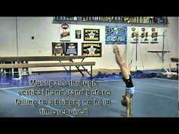 usag aau gymnastics level 4 floor routine tutorial youtube
