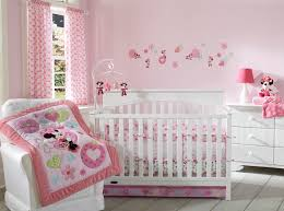 Minnie Mouse Bedding by Minnie Mouse Sitting Pretty 3 Piece Crib Bedding Set
