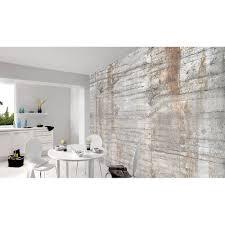 fototapete vlies premium beton wand stein grau braun