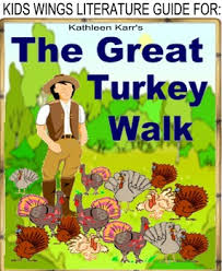 THE GREAT TURKEY WALK By Kathleen Karr Hysterical Historical Fiction 1860