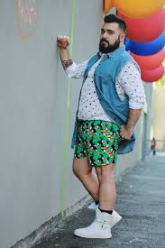Men Summer Fashion Style Plus Size Blogger Rome
