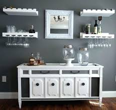 Wine Buffet Table Dining Room Sideboards Marvellous Cabinet With Rack White