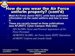 introduction to air force junior rotc lesson 2 chapter 1 1 the