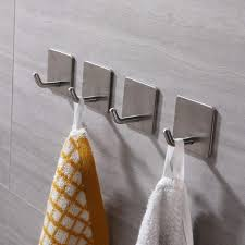 ohne bohren edelstahl wandhaken selbstklebend klebehaken bad