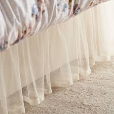 LC Lauren Conrad Tulle Bed Skirt