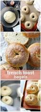Panera Pumpkin Bagel Vegan by French Toast Bagels Versus Dough