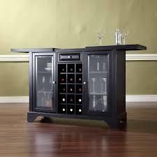 Modern Liquor Cabinet Ideas by Furniture Crosley Furniture Lafayette Sliding Top Bar Cabinet