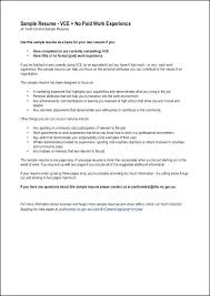 Resume Work Experience Examples Restaurant No The Perfect Sample Templates With Employment