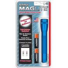 mini maglite 2 cell aa bulb pack flashlight blue walmart